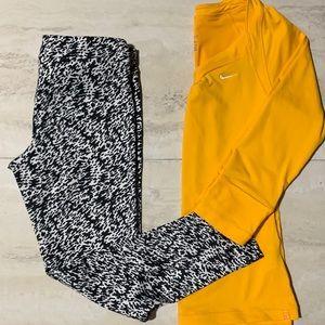 🍁NEW ARRIVAL🍁NIKE DriFit Cropped Leggings
